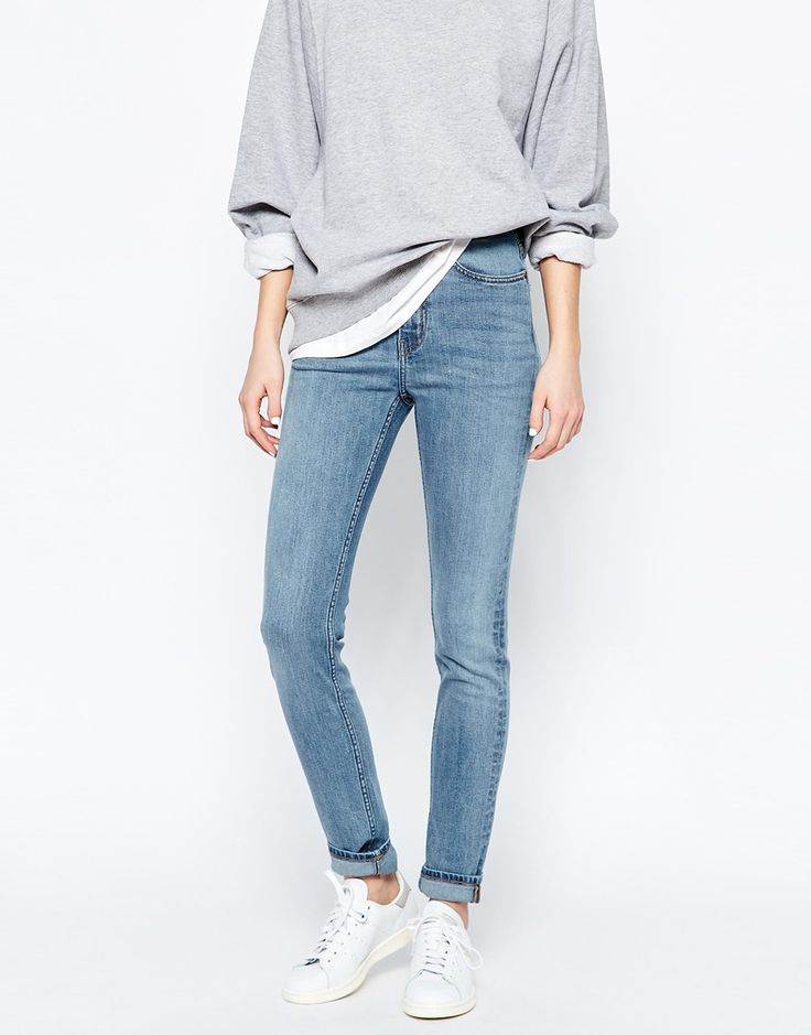 Image 1 - Weekday - Thursday - Jean skinny taille haute