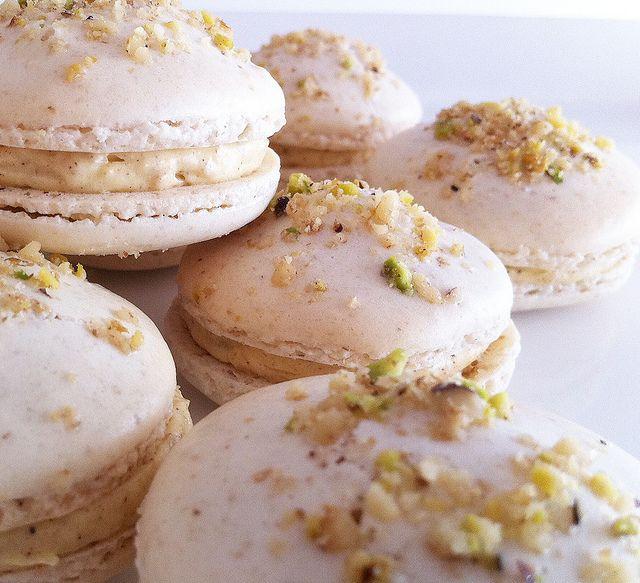almond shell turkish baklava cooking photos french macaron buttercream ...