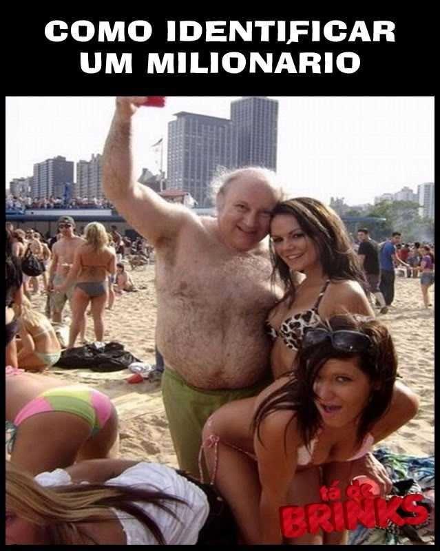 Como identificar um milionário
