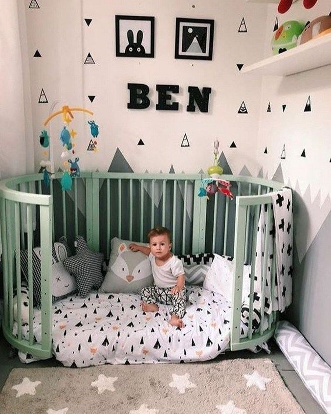 41 Inspiring And Creative Baby Boy Room Ideas Nursery Ideas 7