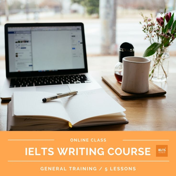 IELTS general training online writing course