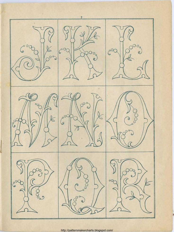 Free Easy Cross, Pattern Maker, PCStitch Charts + Free Historic Old Pattern Books: Sajou No 342: