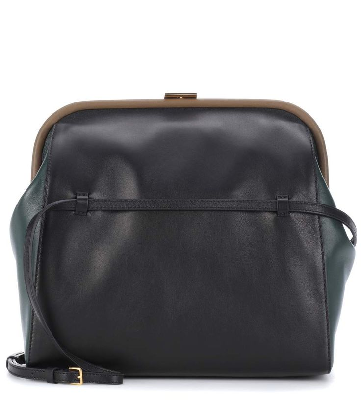 MARNI Leather shoulder bag.