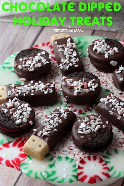 Candy Cane Treats - Pint Sized Baker