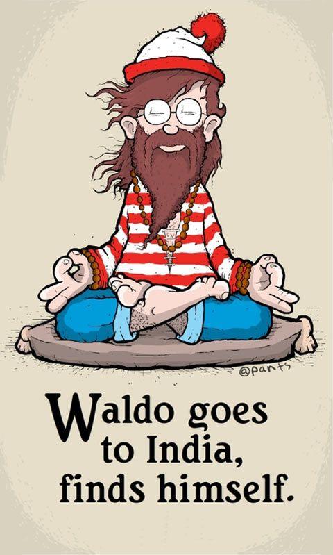 Waldo finds himself.