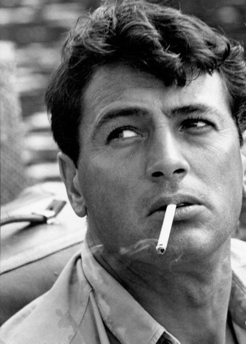 Rock Hudson...too bad he played for the other team. Can still admire the sexy though!