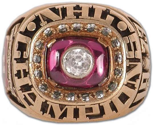 Montreal Canadiens - 1973 Stanley Cup Ring