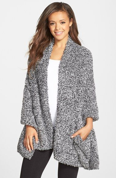 Barefoot Dreams® CozyChic® Travel Shawl | Nordstrom omg for those long flights yes please! lol thanks @joannarobertson !