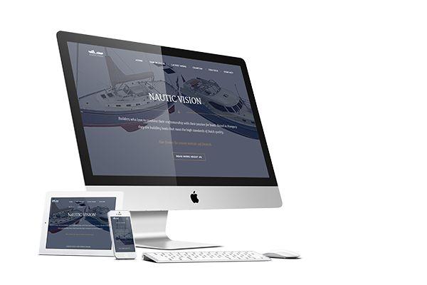 Website NAUTIC VISION