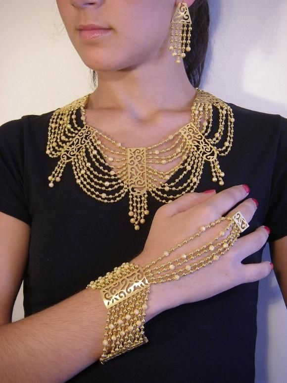 Turkish gold jewelery ☪