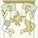 Bebeklerin uyuma şekillerine farklı bir bakış… icon smile Bebek Uyku Pozisyonları (Baby Sleep Positions)