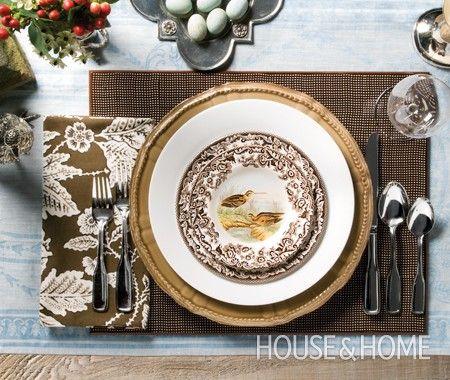 Galeria de Fotos: Configurações de tabela de Ação de Graças | Casa & Home