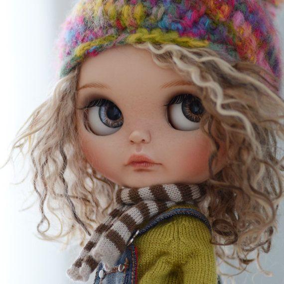RESERVED Custom Blythe Doll by WabiSabiDolls on Etsy