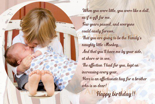 Image Result For Birthday Wishes For Little Brother