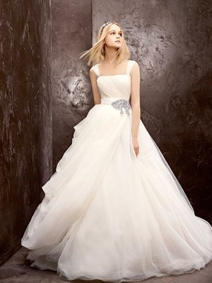 White by Vera Wang Fall 2012  / Courtesy of David's Bridal