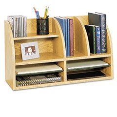 * Radius Front Organizer, Eight Sections, 25 7/8 x 9 5/8 x 15 1/4, Medium Oak **.  #MotivationUSA #Home