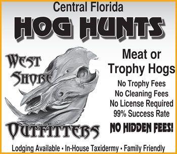 Central Florida Hog Hunts