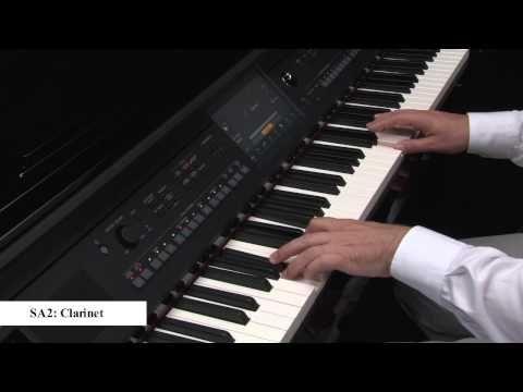 Yamaha Clavinova CVP-600 Series - Voices