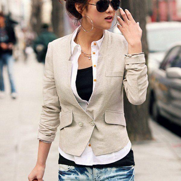 Женский жакет - обязательная часть делового костюма