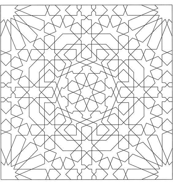 9 best Zillij images on Pinterest  Geometric patterns Mandalas