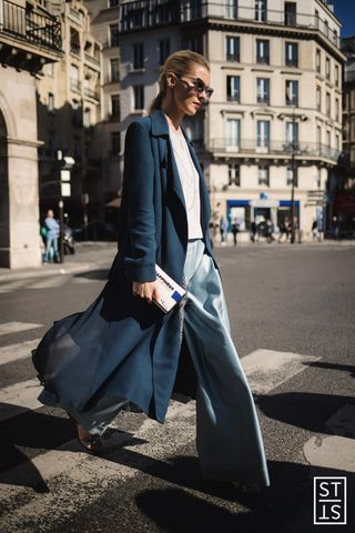 Dasha Gold | The Trend Spotter before Dior show during Paris Fashion Week SS 2016
