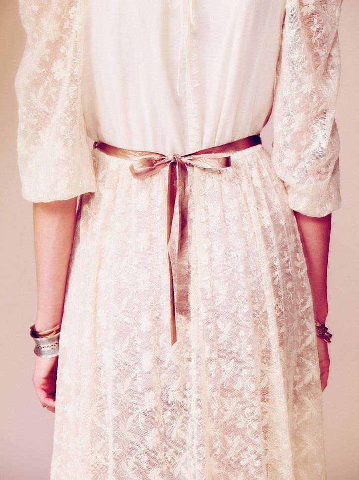 Free People Anas Limited Edition White Summer Dress, $600.00 ---- If I ever get married, I'm having my wedding in the summer. This WILL be my dress.