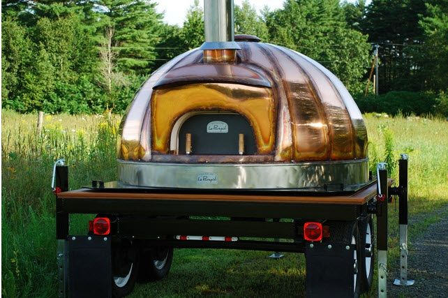 Standard Pizza Company's Wood Fired Oven