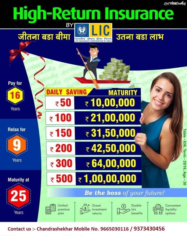 High Return Insurance Life Insurance Marketing Life Insurance