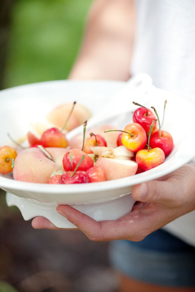summer stone fruit: sweet and savory recipes #Anthropologie #PinToWin
