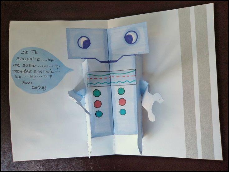 Pop-Up robot Cam&Drey bricolent...
