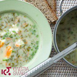 Zupa szczawiowa | Kwestia Smaku