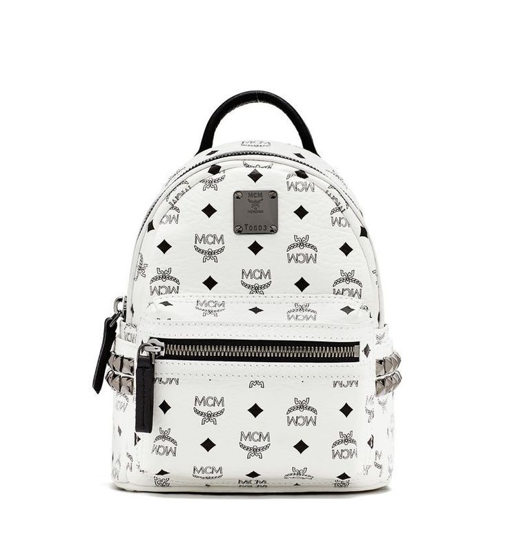 MCM BEBE BOO BACKPACK WHITE - MCM-1 #backpack #mcmsale #mcmonline