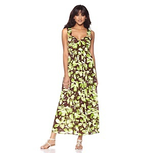 "Tiana B. ""Ring Around a Maxi"" Printed Dress at HSN.com.Worth Reading, Prints Dresses, Book Worth"