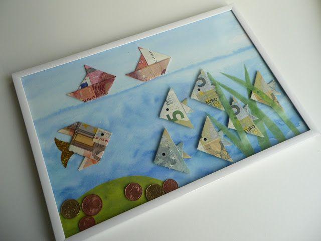 ... Geldscheine falten on Pinterest | Dollar bills, Money origami and Und