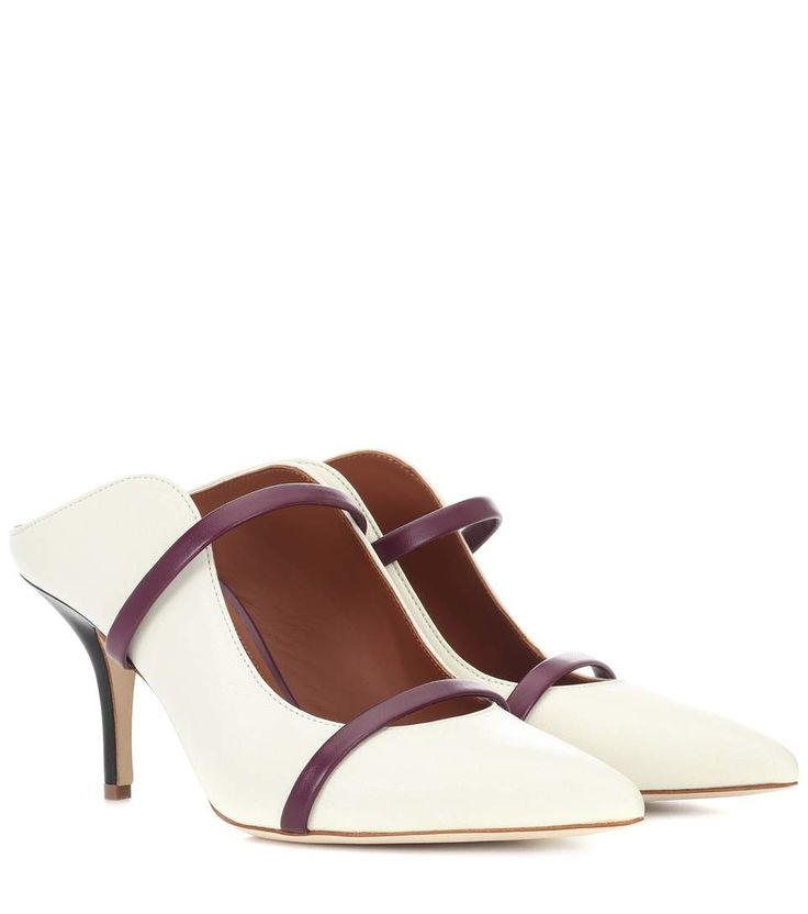 MALONE SOULIERS Maureen leather mules. #malonesouliers #shoes #