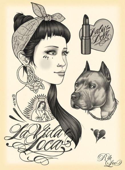 Rik Lee   love his art I will get his art tatooed on me !!