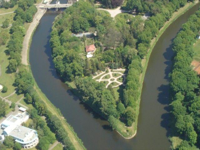 Hradec Králové - soutok Labe a Orlice