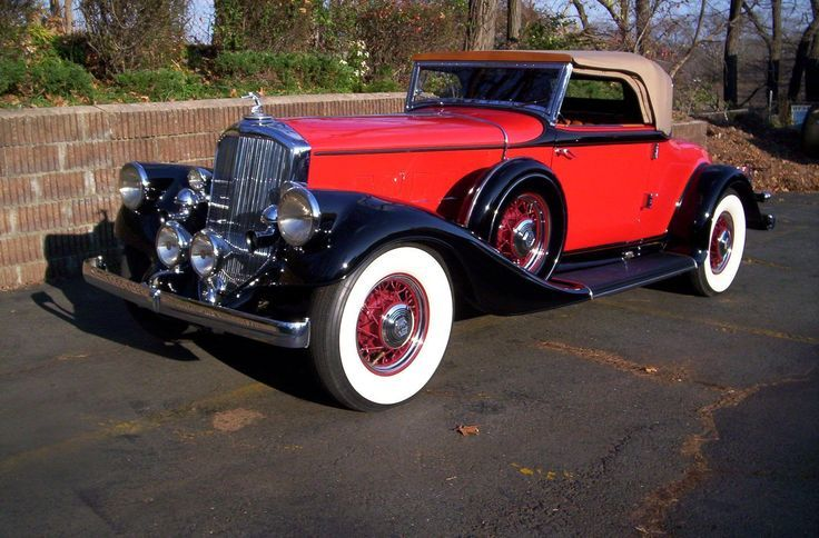 1933 Pierce Arrow V12 Convertible Coupe Old Classic Cars Classic Cars Vintage Coupe Cars