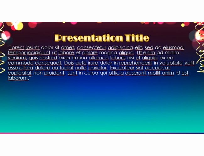 New Year Powerpoint Template Powerpoint Templates Powerpoint Templates