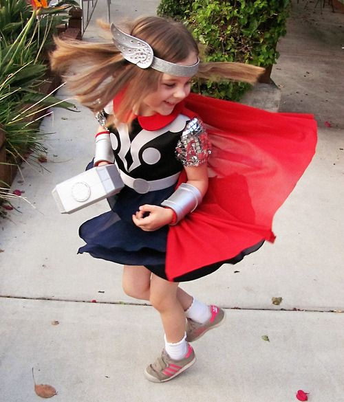 Tiny Princess Thor Is Way Better than Chris Hemsworth Thor