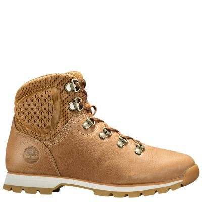 WOMEN'S ALDERWOOD MID HIKING BOOTS in Light Brown Full Grain | Shop Timberland.com for Alderwood women's hiking boots, leather hikers and waterproof hiking boots.