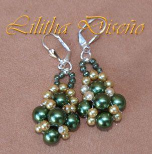 9ff657442c49 pulseras  Colgantes  pendientes  Bisuteria Las Cosas de Lilitha ...