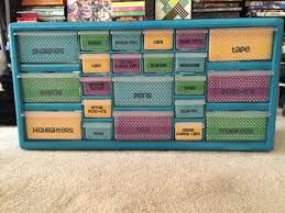 school supply storage ideas - Google Search