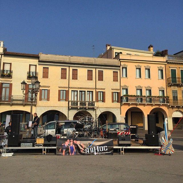 Pronti per la festa della bicicletta?  #adhocband #enjoy #live #music #rock #festadellamusica #Padova #bike #pratodellavalle
