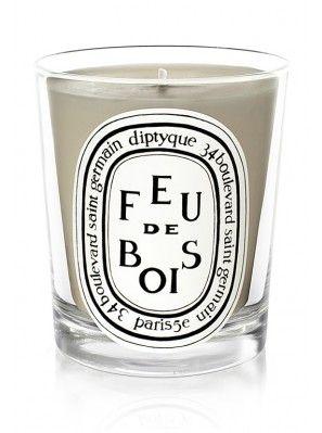 Bougie parfumée Feu de Bois