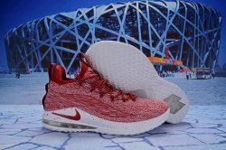 f843562721e Nike LeBron 15 Low Team Red AO1755-200 Men s Basketball Shoes James Trainers