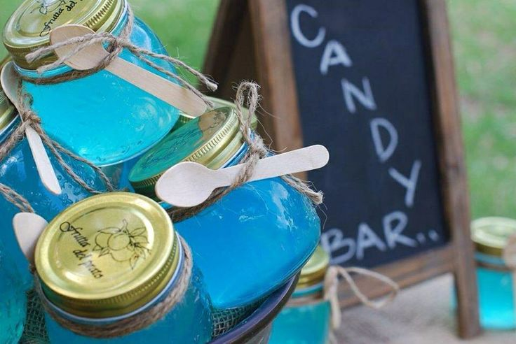 Party Favors - Rustic Jelly Jars - styling by Sweet Soirees (www.sweet-soirees.com.au)