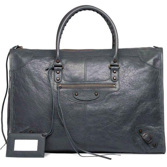 Balenciaga Weekender Gris Tarmac Handbag dokuz limited offer,no taxes and free shipping.#handbags #design #totebag #fashionbag #shoppingbag #womenbag #womensfashion #luxurydesign #luxurybag #luxurylifestyle #handbagsale #balenciaga #balenciagabag #balenciagacity