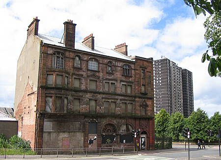 The last remaining 19th-century tenement in the Gorbals, Glasgow