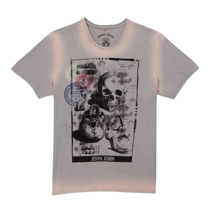 T-SHIRT SKULL SEALS JOHN JOHN DENIM | SHOP ONLINE | Compre a nova coleção pelo site oficial.